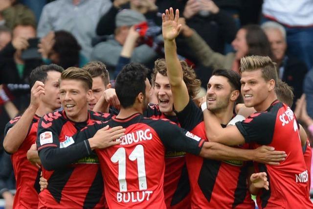Durchgebissen: SC Freiburg bezwingt Eintracht Frankfurt mit 1:0