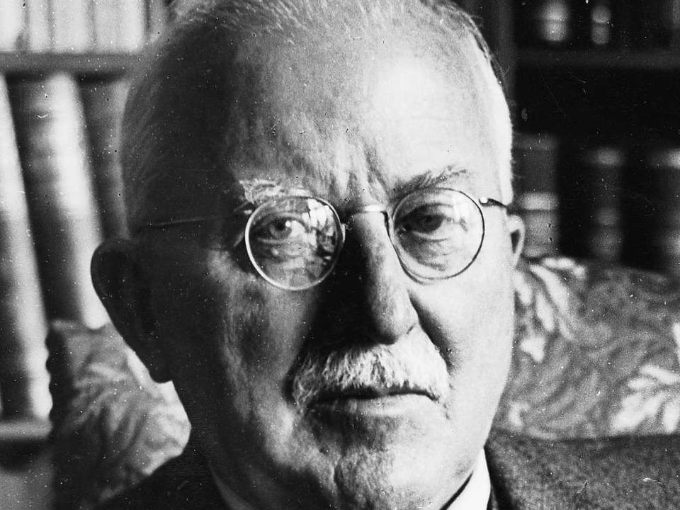 Der preisgekrönte Freiburger Chemiker ...war in  Freiburg bislang kaum bekannt.    Foto: Willy Pragher