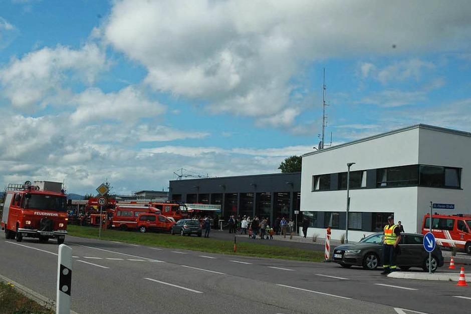 Das neue Gerätehaus in Laufenburg ist feierlich übergeben worden. (Foto: Christiane Sahli)