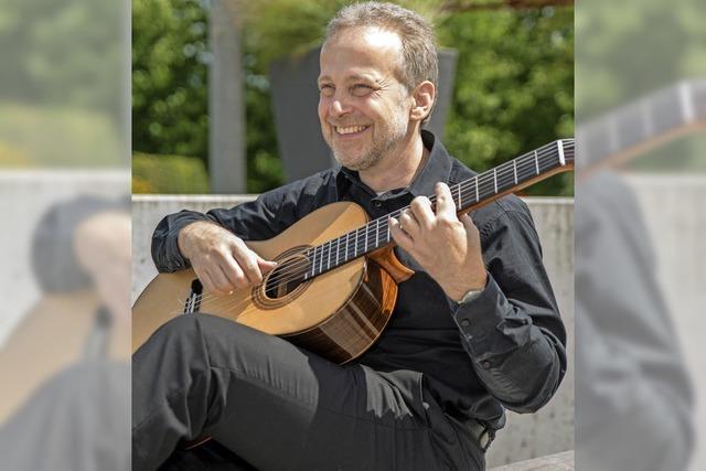 Dorothea Rieger (Sopran) und Matthias Kläger (Gitarre) in Badenweiler