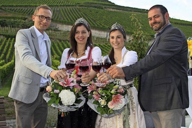 Beim Weinwochenende gab es viele gute Tropfen zu verkosten