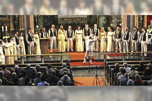 Ukrainischer Chor Oreya gastiert in Titisee