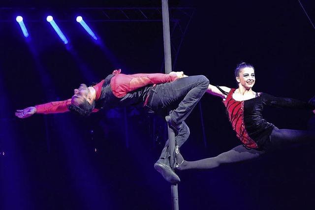 Der traditionsreiche Circus Nock gastiert auf der Rosentalanlage