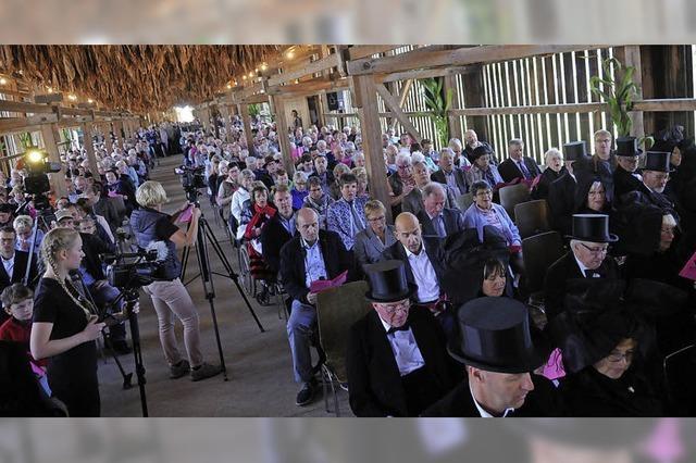 Landesbischof feiert Landeserntedankfest in Ichenheim