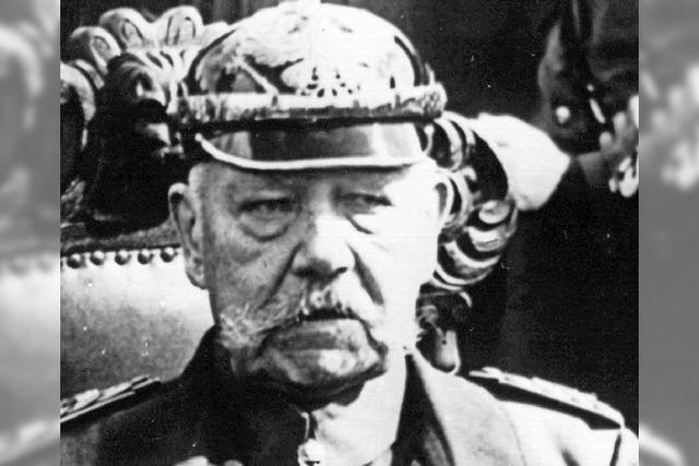 Diskussion um Hindenburg