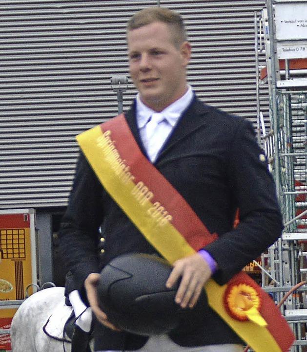 Maximilian Benz (RV Ichenheim), der Ortenauer Ringmeister.  | Foto: Bohnert