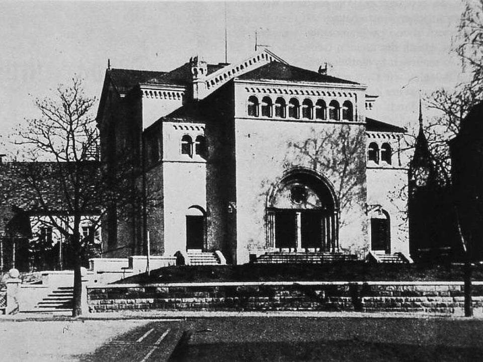 Die frühere Synagoge nach der Erweiterung im Jahr  1925  | Foto:  privat