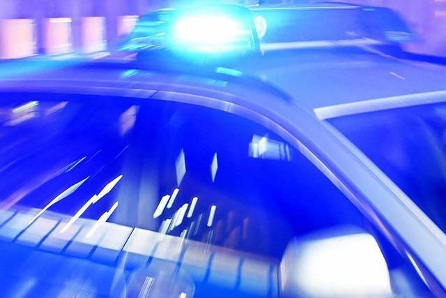 Betrunkener Autofahrer in Lörrach