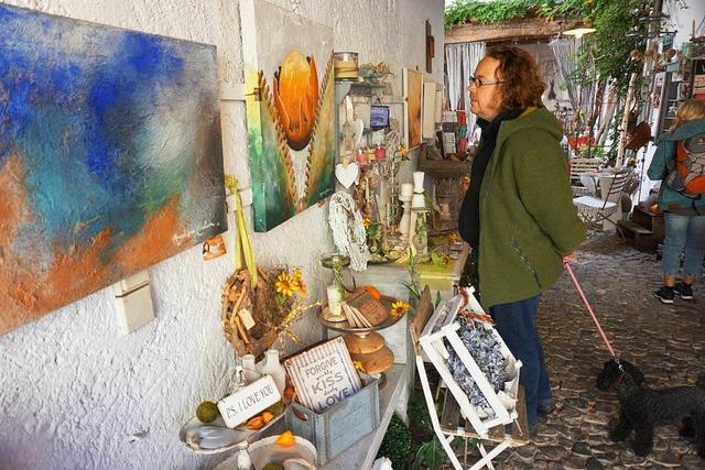 Reger Besucherandrang bei den offenen Ateliers