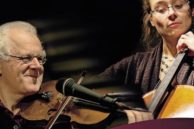 Uli Führe und Monika Ecker mit ihrem Programm: