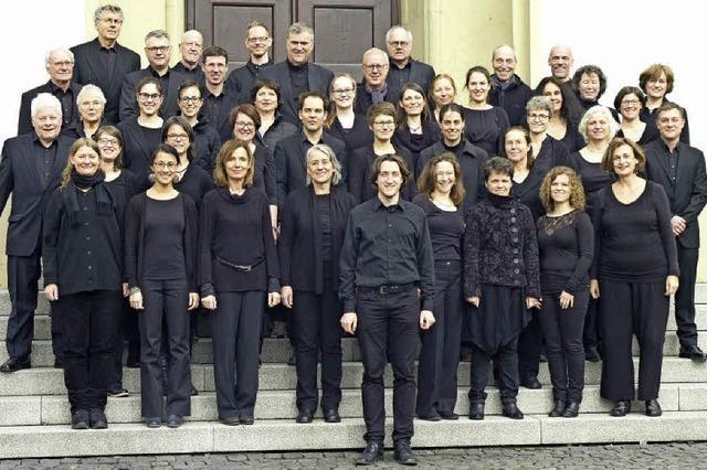Konzert des Freiburger Kammerchors im Augustinermuseum und in St. Konrad