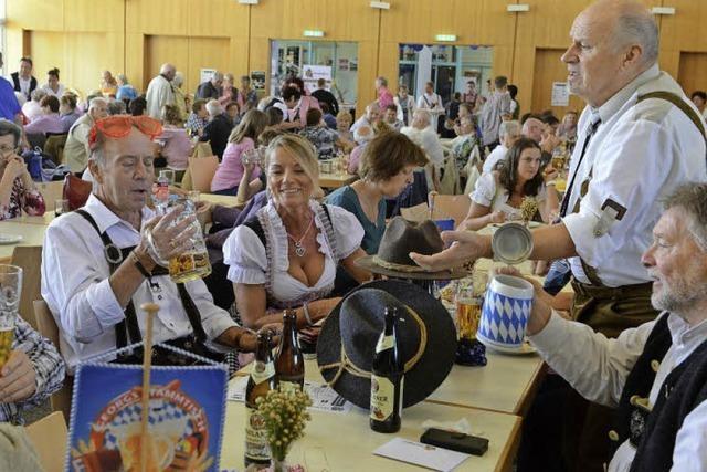 Orchestergemeinschaft Seepark veranstaltet ein ganz bodenständiges Vereins-Oktoberfest im Bürgerhaus