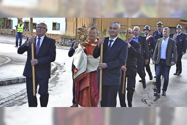 Patrozinium mit neuem Pfarrer