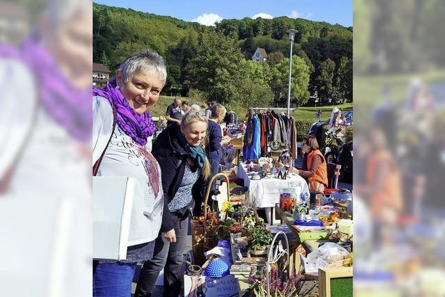 Liels erster Dorfflohmarkt lockt viele
