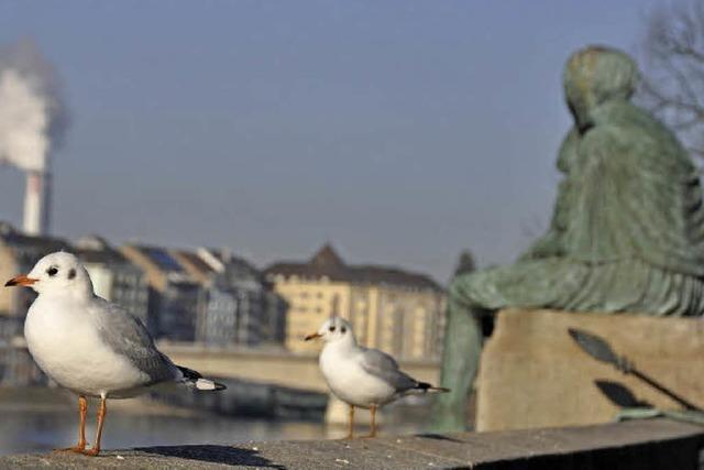 Urban wandern im Dreiländereck