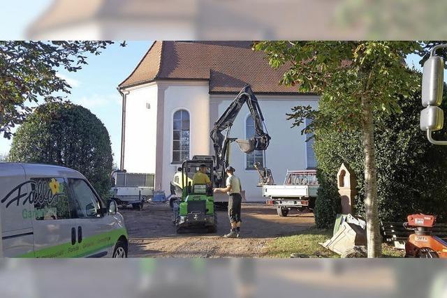 Ohmenkapelle bleibt vorerst Baustelle