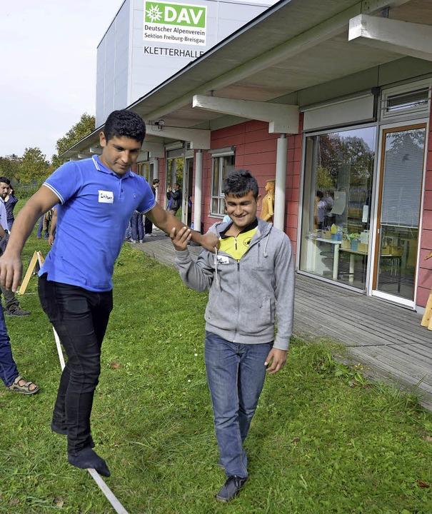 Willkommensfest für Flüchtlinge beim A...schüsse für Projekte mit Migranten.     | Foto: Archivfoto: Michael Bamberger