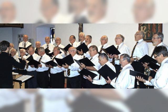 Männerchor zeigt sich vielseitig