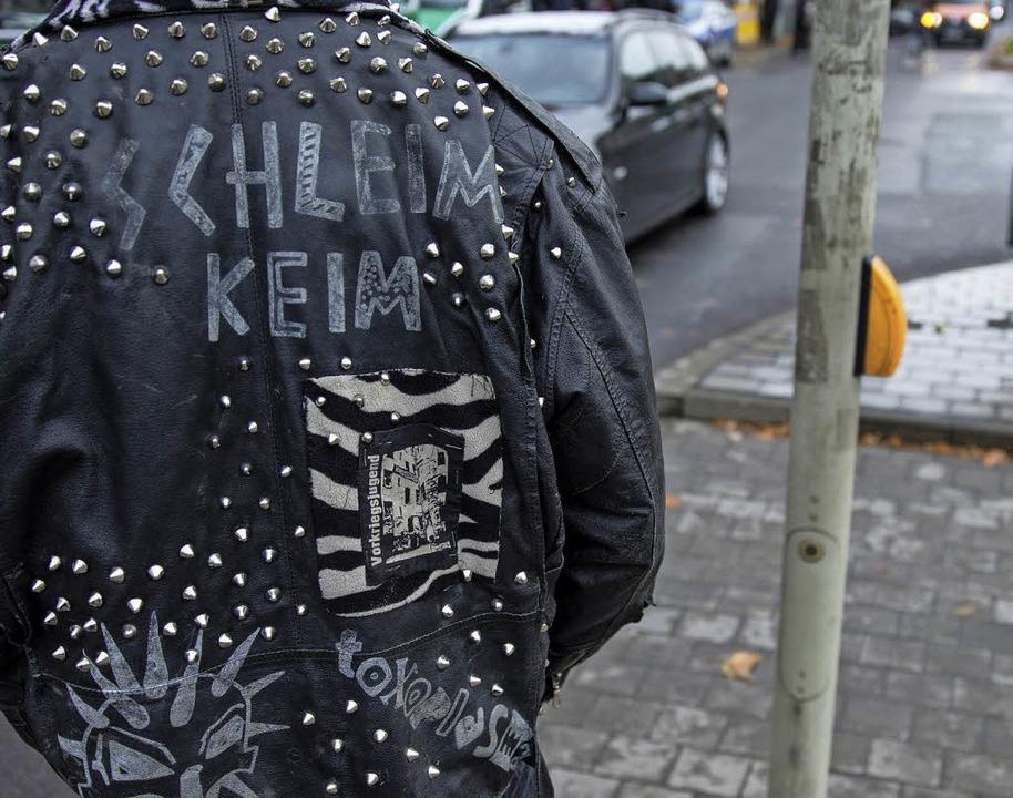 Protest unter der Lederjacke: Romanheld Sid sucht das Glück.     Foto: dpa