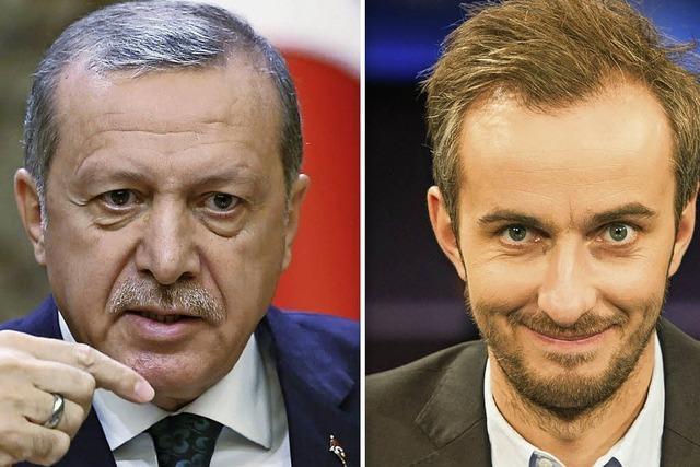 Böhmermann mit Teilerfolg gegen Erdogan
