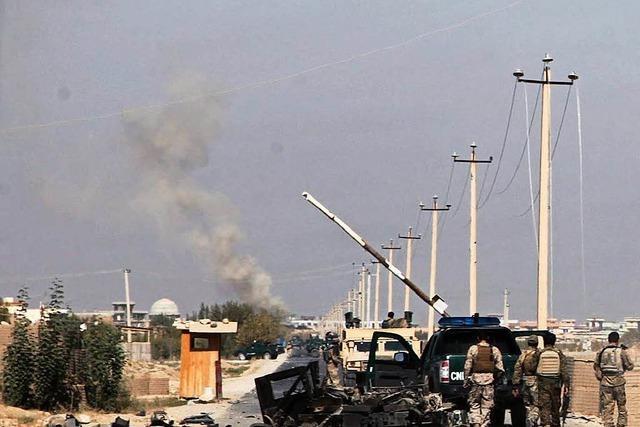 Kämpfe in der nordafghanischen Stadt Kundus halten an