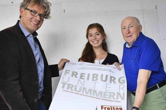 Schüler des Friedrich-Gymnasium haben Filme über Freiburg nach dem Zweiten Weltkrieg gedreht