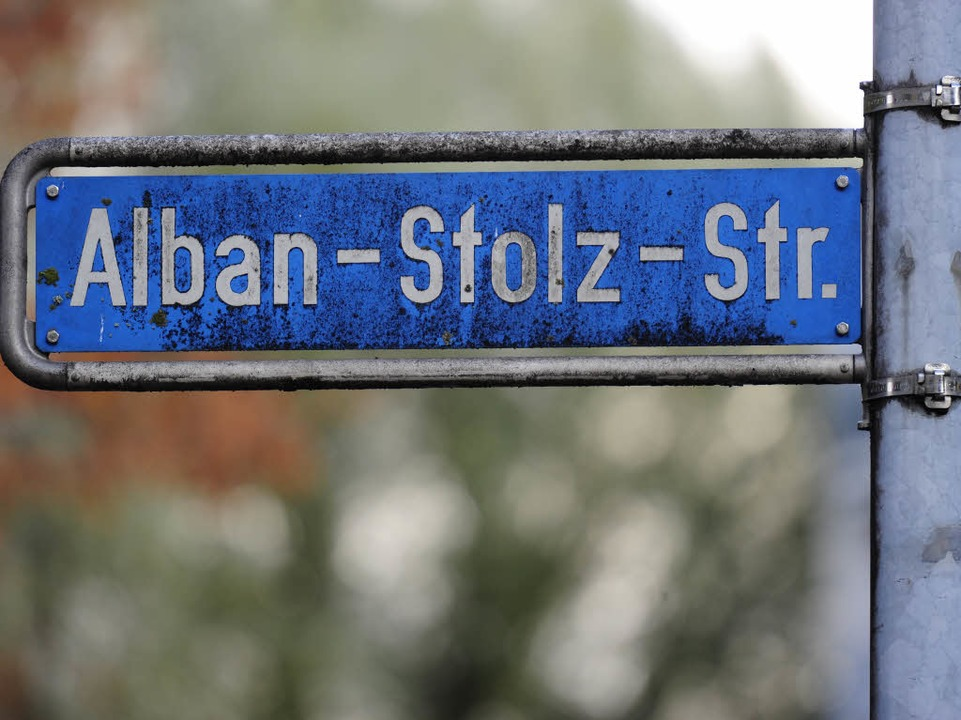 Alle Straßennamen in Freiburg sind auf dem Prüfstand.  | Foto: Ingo Schneider