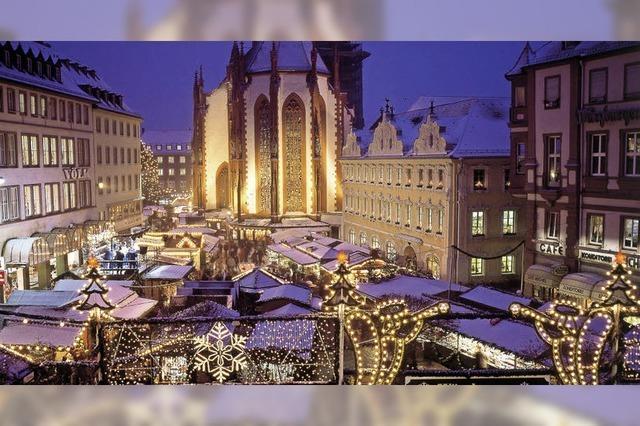 Adventszauber in Würzburg