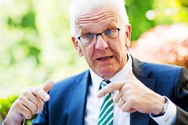 Kretschmann ruft Partei zu Selbstkritik auf