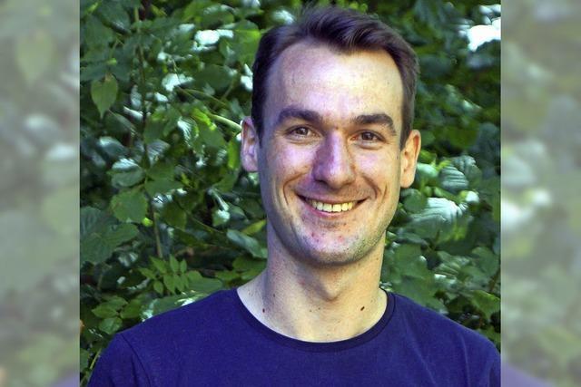 Seit dem 1. Oktober ist Thiemo Leimgruber Badenweilers Forstrevierleiter