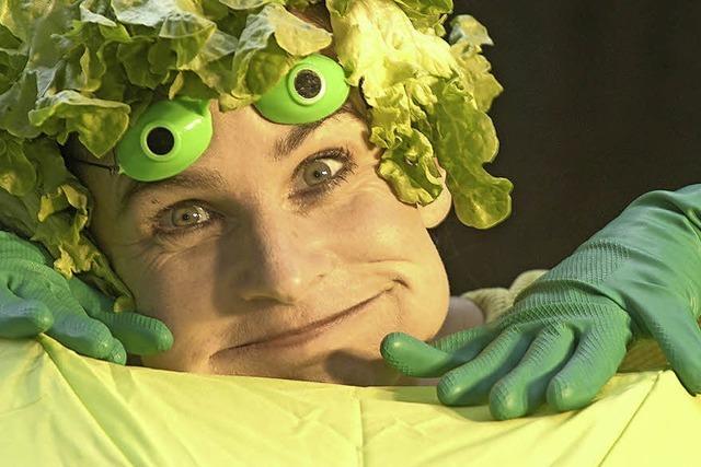 Beatrice Hutter gastiert mit ihrem Musiktheater in der Stadtscheuer Waldshut