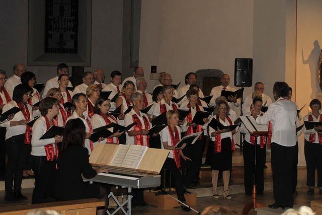 Der Kirchenchor macht's alleine