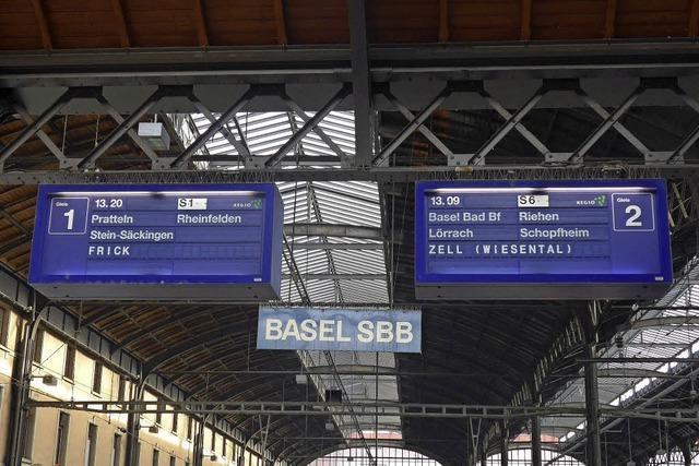 Gleishalle im SBB wird saniert