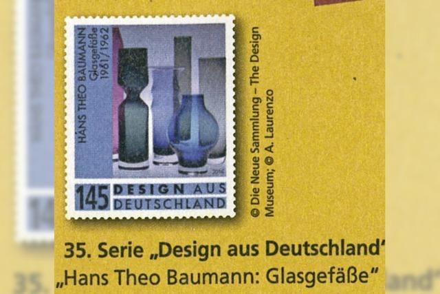 Sondermarke für Hans Theo Baumann