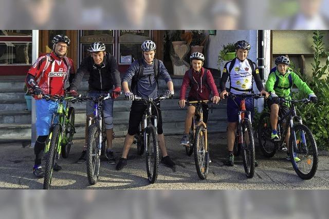 Heimatkunde auf dem Mountainbike