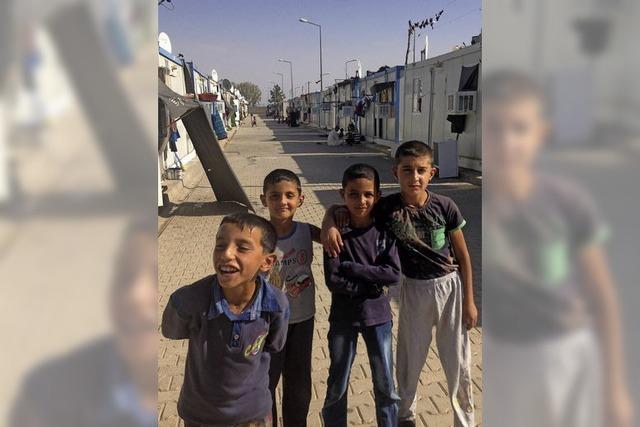 So leben syrische Flüchtlinge im Lager Harran im Süden der Türkei