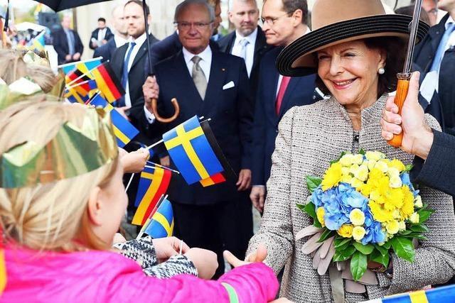 Schwedisches Königspaar zu Gast in Deutschland