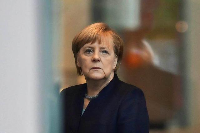 Merkel verteidigt Flüchtlingskurs