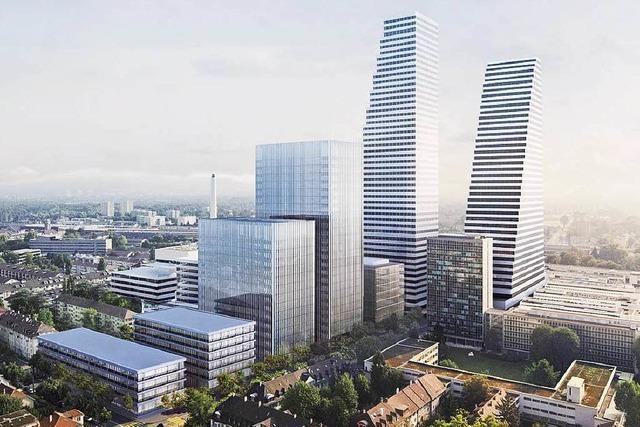 Roche-Konzern will zweiten Turm in Basel bauen