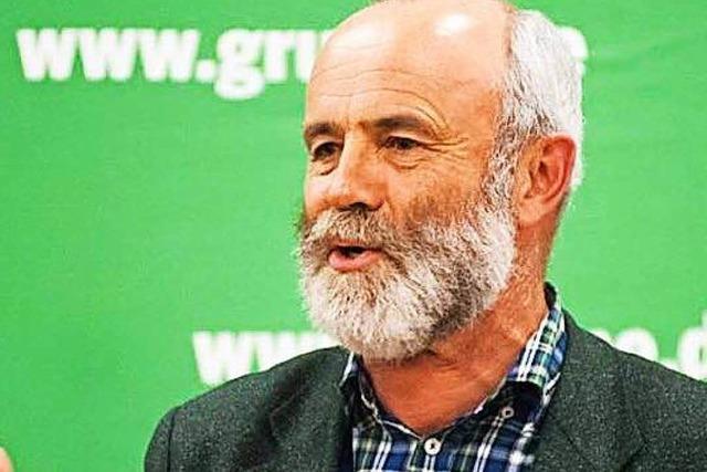 Ulrich Martin Drescher aus Kirchzarten will für die Grünen in den Bundestag