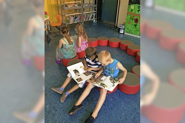 Fast alle Freiburger Grundschulen haben jetzt eine Bibliothek