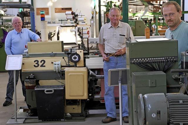 Zeugnis von der Blütezeit der Textilindustrie