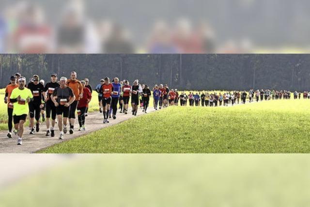 Aussichtsreiche Schwarzwälder beim Heim-Marathon