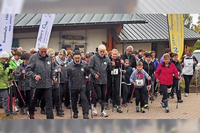 Mit dem Wintersportclub Bannholz-Höchenschwand in Höchenschwand