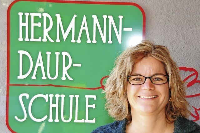 Anna Kruse als Rektorin der Daur-Schule eingeführt