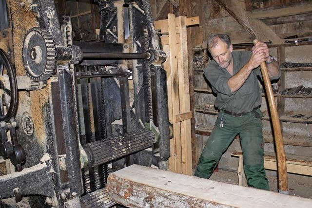 Strom für die alte Säge in Oberried