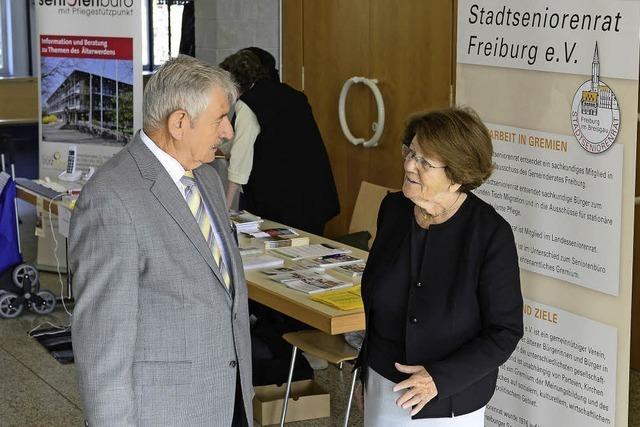 Wie der Stadtseniorentag sich für ältere Menschen in Freiburg engagiert
