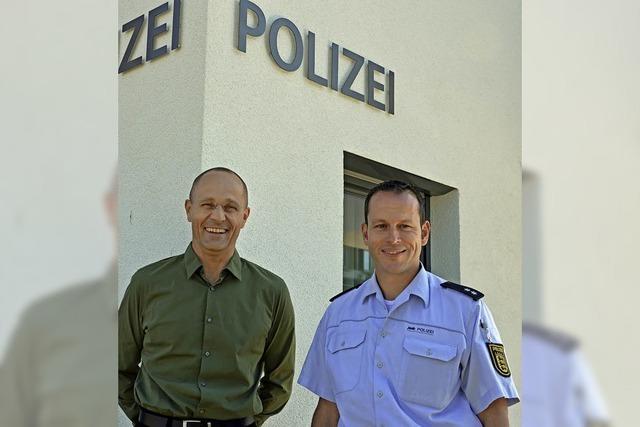 Holger Bank leitet den Polizeiposten Kirchzarten