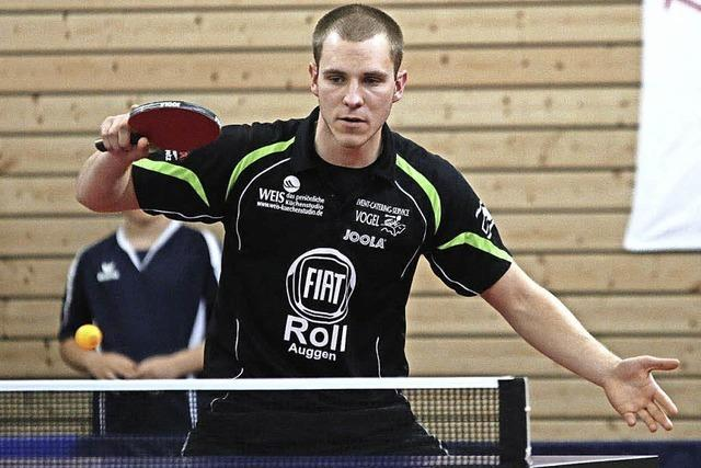 Tischtennis beim TTV Auggen
