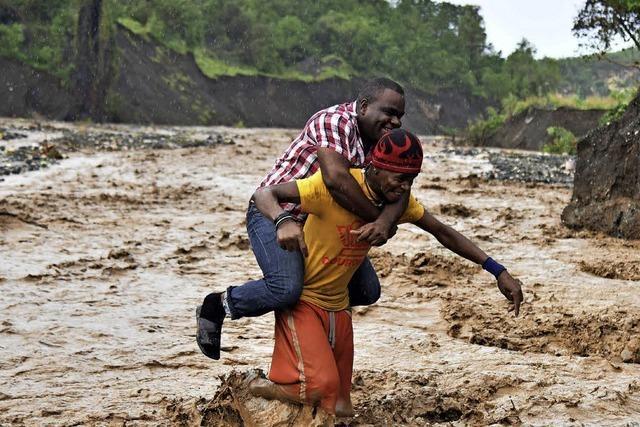 Enorme Schäden in Haiti